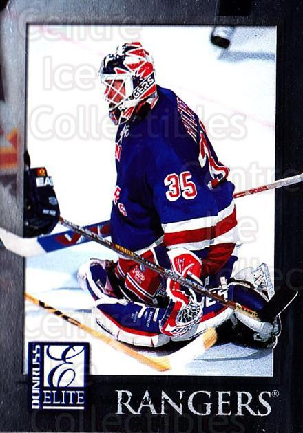 1997-98 Donruss Elite #56 Mike Richter<br/>3 In Stock - $1.00 each - <a href=https://centericecollectibles.foxycart.com/cart?name=1997-98%20Donruss%20Elite%20%2356%20Mike%20Richter...&quantity_max=3&price=$1.00&code=56779 class=foxycart> Buy it now! </a>