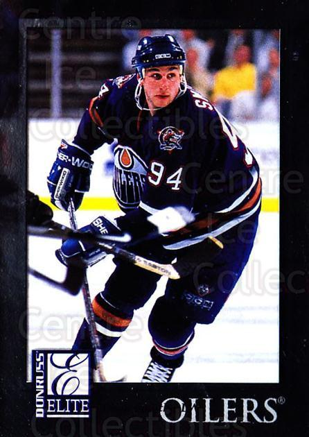 1997-98 Donruss Elite #70 Ryan Smyth<br/>5 In Stock - $1.00 each - <a href=https://centericecollectibles.foxycart.com/cart?name=1997-98%20Donruss%20Elite%20%2370%20Ryan%20Smyth...&quantity_max=5&price=$1.00&code=56794 class=foxycart> Buy it now! </a>