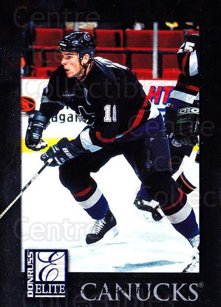 1997-98 Donruss Elite #89 Trevor Linden<br/>5 In Stock - $1.00 each - <a href=https://centericecollectibles.foxycart.com/cart?name=1997-98%20Donruss%20Elite%20%2389%20Trevor%20Linden...&quantity_max=5&price=$1.00&code=56814 class=foxycart> Buy it now! </a>