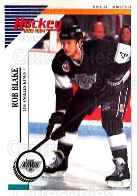 1993-94 Panini Stickers #209 Rob Blake<br/>6 In Stock - $1.00 each - <a href=https://centericecollectibles.foxycart.com/cart?name=1993-94%20Panini%20Stickers%20%23209%20Rob%20Blake...&quantity_max=6&price=$1.00&code=5681 class=foxycart> Buy it now! </a>