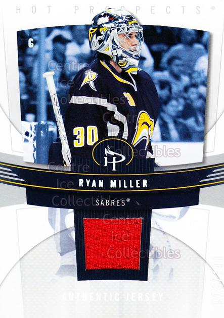 2006-07 Hot Prospects Red Hot #11 Ryan Miller<br/>1 In Stock - $5.00 each - <a href=https://centericecollectibles.foxycart.com/cart?name=2006-07%20Hot%20Prospects%20Red%20Hot%20%2311%20Ryan%20Miller...&quantity_max=1&price=$5.00&code=568206 class=foxycart> Buy it now! </a>