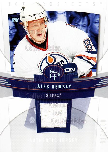 2006-07 Hot Prospects Red Hot #41 Ales Hemsky<br/>1 In Stock - $5.00 each - <a href=https://centericecollectibles.foxycart.com/cart?name=2006-07%20Hot%20Prospects%20Red%20Hot%20%2341%20Ales%20Hemsky...&quantity_max=1&price=$5.00&code=568236 class=foxycart> Buy it now! </a>