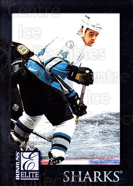 1997-98 Donruss Elite #99 Patrick Marleau<br/>4 In Stock - $1.00 each - <a href=https://centericecollectibles.foxycart.com/cart?name=1997-98%20Donruss%20Elite%20%2399%20Patrick%20Marleau...&quantity_max=4&price=$1.00&code=56824 class=foxycart> Buy it now! </a>