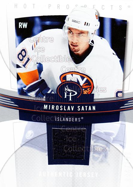 2006-07 Hot Prospects Red Hot #62 Miroslav Satan<br/>1 In Stock - $5.00 each - <a href=https://centericecollectibles.foxycart.com/cart?name=2006-07%20Hot%20Prospects%20Red%20Hot%20%2362%20Miroslav%20Satan...&quantity_max=1&price=$5.00&code=568257 class=foxycart> Buy it now! </a>