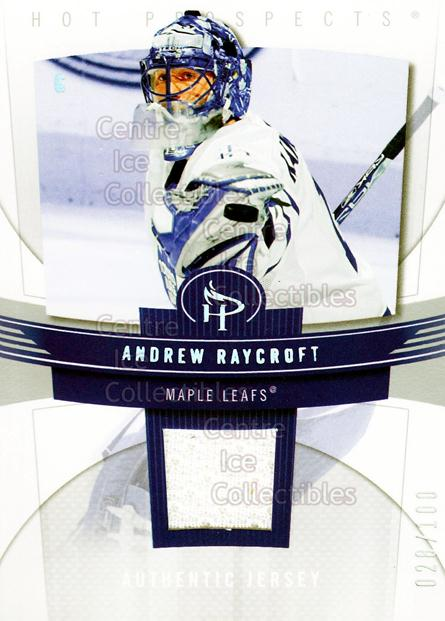 2006-07 Hot Prospects Red Hot #91 Andrew Raycroft<br/>1 In Stock - $5.00 each - <a href=https://centericecollectibles.foxycart.com/cart?name=2006-07%20Hot%20Prospects%20Red%20Hot%20%2391%20Andrew%20Raycroft...&quantity_max=1&price=$5.00&code=568286 class=foxycart> Buy it now! </a>
