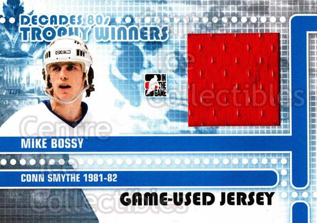 2010-11 ITG Decades 1980s Trophy Winners Jersey Black #7 Mike Bossy<br/>1 In Stock - $5.00 each - <a href=https://centericecollectibles.foxycart.com/cart?name=2010-11%20ITG%20Decades%201980s%20Trophy%20Winners%20Jersey%20Black%20%237%20Mike%20Bossy...&price=$5.00&code=568538 class=foxycart> Buy it now! </a>