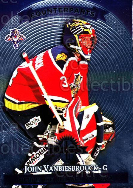 1997-98 Donruss Limited #113 John Vanbiesbrouck, Roman Turek<br/>6 In Stock - $1.00 each - <a href=https://centericecollectibles.foxycart.com/cart?name=1997-98%20Donruss%20Limited%20%23113%20John%20Vanbiesbro...&quantity_max=6&price=$1.00&code=56908 class=foxycart> Buy it now! </a>