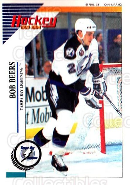 1993-94 Panini Stickers #217 Bob Beers<br/>6 In Stock - $1.00 each - <a href=https://centericecollectibles.foxycart.com/cart?name=1993-94%20Panini%20Stickers%20%23217%20Bob%20Beers...&quantity_max=6&price=$1.00&code=5690 class=foxycart> Buy it now! </a>