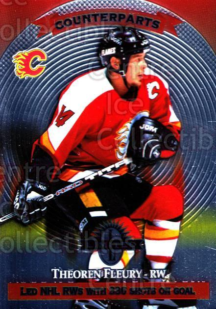 1997-98 Donruss Limited #24 Theo Fleury, Geoff Courtnall<br/>6 In Stock - $1.00 each - <a href=https://centericecollectibles.foxycart.com/cart?name=1997-98%20Donruss%20Limited%20%2324%20Theo%20Fleury,%20Ge...&quantity_max=6&price=$1.00&code=56969 class=foxycart> Buy it now! </a>