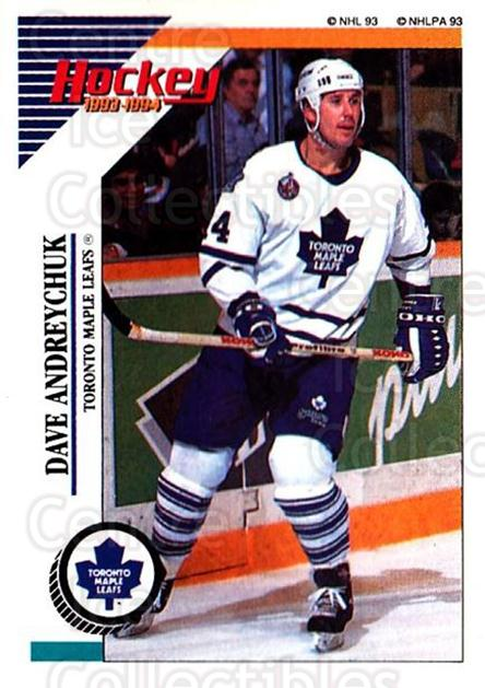 1993-94 Panini Stickers #223 Dave Andreychuk<br/>6 In Stock - $1.00 each - <a href=https://centericecollectibles.foxycart.com/cart?name=1993-94%20Panini%20Stickers%20%23223%20Dave%20Andreychuk...&quantity_max=6&price=$1.00&code=5697 class=foxycart> Buy it now! </a>