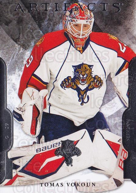 2011-12 UD Artifacts #29 Tomas Vokoun<br/>1 In Stock - $1.00 each - <a href=https://centericecollectibles.foxycart.com/cart?name=2011-12%20UD%20Artifacts%20%2329%20Tomas%20Vokoun...&quantity_max=1&price=$1.00&code=569929 class=foxycart> Buy it now! </a>