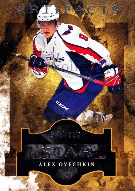 2011-12 UD Artifacts #121 Alexander Ovechkin<br/>1 In Stock - $3.00 each - <a href=https://centericecollectibles.foxycart.com/cart?name=2011-12%20UD%20Artifacts%20%23121%20Alexander%20Ovech...&price=$3.00&code=570021 class=foxycart> Buy it now! </a>