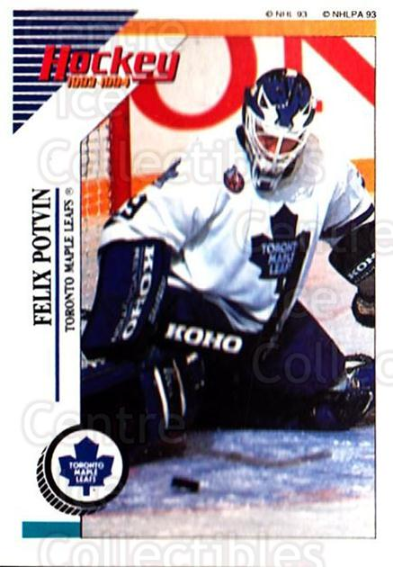1993-94 Panini Stickers #232 Felix Potvin<br/>3 In Stock - $1.00 each - <a href=https://centericecollectibles.foxycart.com/cart?name=1993-94%20Panini%20Stickers%20%23232%20Felix%20Potvin...&quantity_max=3&price=$1.00&code=5706 class=foxycart> Buy it now! </a>