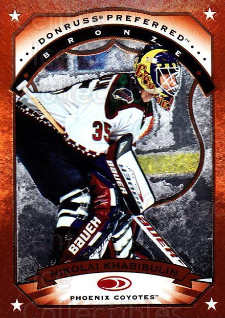 1997-98 Donruss Preferred #101 Nikolai Khabibulin<br/>6 In Stock - $1.00 each - <a href=https://centericecollectibles.foxycart.com/cart?name=1997-98%20Donruss%20Preferred%20%23101%20Nikolai%20Khabibu...&quantity_max=6&price=$1.00&code=57120 class=foxycart> Buy it now! </a>