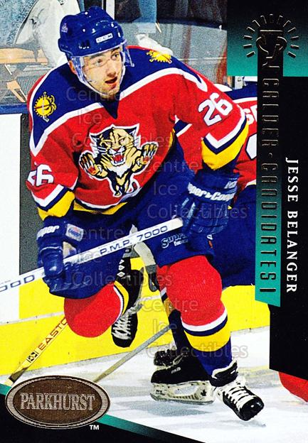 1993-94 Parkhurst Calder Candidates Gold #15 Jesse Belanger<br/>18 In Stock - $3.00 each - <a href=https://centericecollectibles.foxycart.com/cart?name=1993-94%20Parkhurst%20Calder%20Candidates%20Gold%20%2315%20Jesse%20Belanger...&quantity_max=18&price=$3.00&code=5714 class=foxycart> Buy it now! </a>