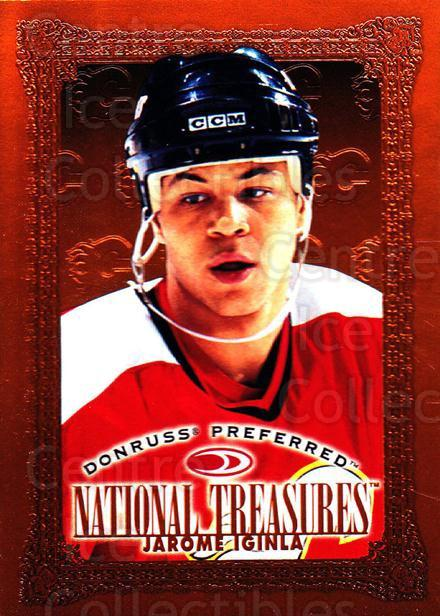 1997-98 Donruss Preferred #166 Jarome Iginla<br/>9 In Stock - $1.00 each - <a href=https://centericecollectibles.foxycart.com/cart?name=1997-98%20Donruss%20Preferred%20%23166%20Jarome%20Iginla...&quantity_max=9&price=$1.00&code=57169 class=foxycart> Buy it now! </a>