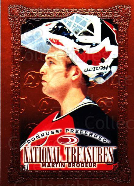 1997-98 Donruss Preferred #185 Martin Brodeur<br/>2 In Stock - $2.00 each - <a href=https://centericecollectibles.foxycart.com/cart?name=1997-98%20Donruss%20Preferred%20%23185%20Martin%20Brodeur...&price=$2.00&code=57184 class=foxycart> Buy it now! </a>