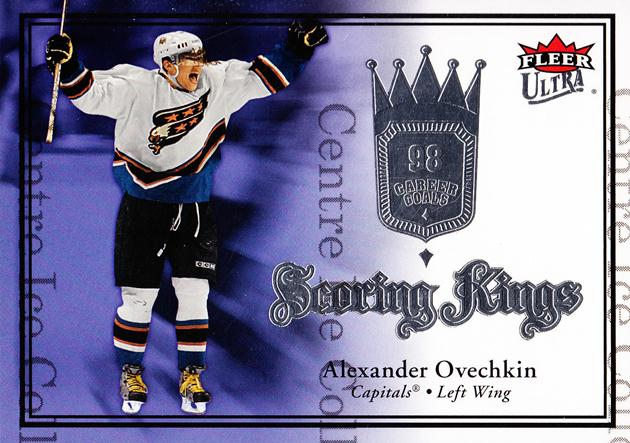 2007-08 Ultra Scoring King #1 Alexander Ovechkin<br/>1 In Stock - $3.00 each - <a href=https://centericecollectibles.foxycart.com/cart?name=2007-08%20Ultra%20Scoring%20King%20%231%20Alexander%20Ovech...&price=$3.00&code=572178 class=foxycart> Buy it now! </a>