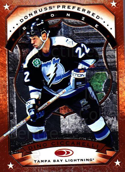 1997-98 Donruss Preferred #51 Dino Ciccarelli<br/>6 In Stock - $1.00 each - <a href=https://centericecollectibles.foxycart.com/cart?name=1997-98%20Donruss%20Preferred%20%2351%20Dino%20Ciccarelli...&quantity_max=6&price=$1.00&code=57218 class=foxycart> Buy it now! </a>