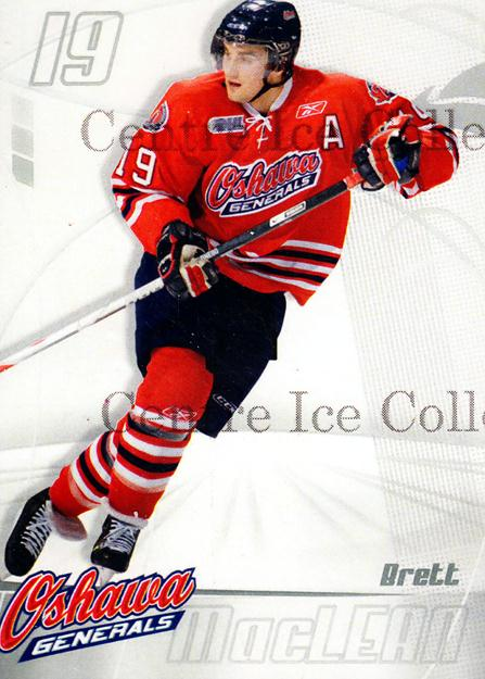 2007-08 Oshawa Generals #LE2 Brett MacLean<br/>1 In Stock - $5.00 each - <a href=https://centericecollectibles.foxycart.com/cart?name=2007-08%20Oshawa%20Generals%20%23LE2%20Brett%20MacLean...&quantity_max=1&price=$5.00&code=572302 class=foxycart> Buy it now! </a>