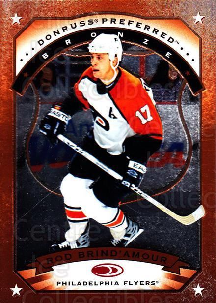 1997-98 Donruss Preferred #67 Rod Brind'Amour<br/>6 In Stock - $1.00 each - <a href=https://centericecollectibles.foxycart.com/cart?name=1997-98%20Donruss%20Preferred%20%2367%20Rod%20Brind'Amour...&quantity_max=6&price=$1.00&code=57231 class=foxycart> Buy it now! </a>