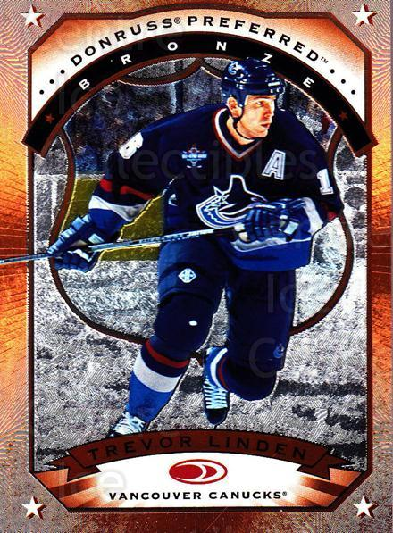 1997-98 Donruss Preferred #89 Trevor Linden<br/>4 In Stock - $1.00 each - <a href=https://centericecollectibles.foxycart.com/cart?name=1997-98%20Donruss%20Preferred%20%2389%20Trevor%20Linden...&quantity_max=4&price=$1.00&code=57245 class=foxycart> Buy it now! </a>