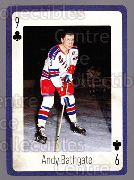 2005 New York Rangers Legends Playing Card #35 Andy Bathgate<br/>4 In Stock - $2.00 each - <a href=https://centericecollectibles.foxycart.com/cart?name=2005%20New%20York%20Rangers%20Legends%20Playing%20Card%20%2335%20Andy%20Bathgate...&quantity_max=4&price=$2.00&code=573406 class=foxycart> Buy it now! </a>
