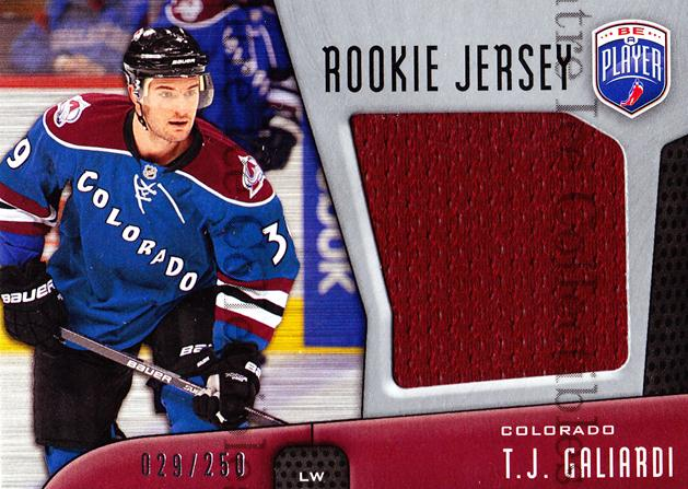 2009-10 Be a Player Rookie Jersey #RJTG TJ Galiardi<br/>1 In Stock - $5.00 each - <a href=https://centericecollectibles.foxycart.com/cart?name=2009-10%20Be%20a%20Player%20Rookie%20Jersey%20%23RJTG%20TJ%20Galiardi...&quantity_max=1&price=$5.00&code=573936 class=foxycart> Buy it now! </a>