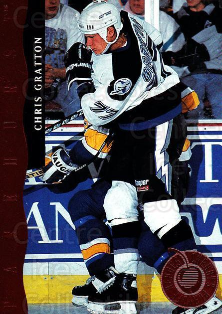 1993-94 Parkhurst Don Cherrys Playoff Heroes #12 Chris Gratton<br/>6 In Stock - $2.00 each - <a href=https://centericecollectibles.foxycart.com/cart?name=1993-94%20Parkhurst%20Don%20Cherrys%20Playoff%20Heroes%20%2312%20Chris%20Gratton...&quantity_max=6&price=$2.00&code=5742 class=foxycart> Buy it now! </a>