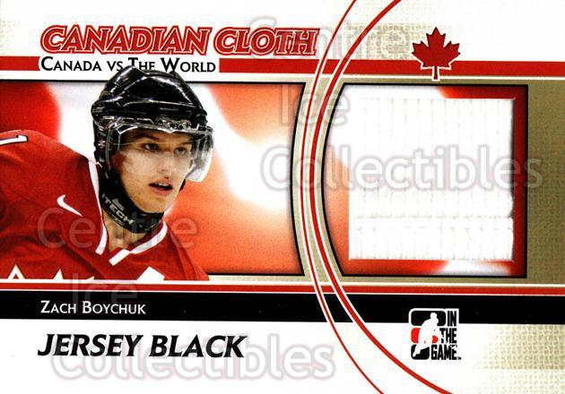 2011-12 ITG Canada vs The World Canadian Cloth Black #34 Zach Boychuk<br/>1 In Stock - $5.00 each - <a href=https://centericecollectibles.foxycart.com/cart?name=2011-12%20ITG%20Canada%20vs%20The%20World%20Canadian%20Cloth%20Black%20%2334%20Zach%20Boychuk...&quantity_max=1&price=$5.00&code=574524 class=foxycart> Buy it now! </a>