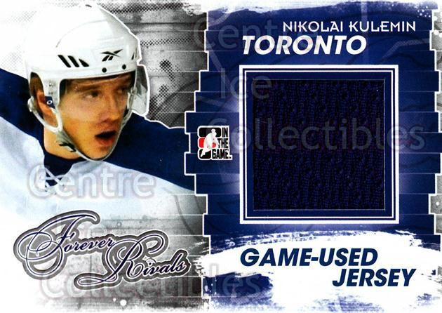 2012-13 ITG Forever Rivals Jersey Blue Red #8 Nikolai Kulemin<br/>1 In Stock - $10.00 each - <a href=https://centericecollectibles.foxycart.com/cart?name=2012-13%20ITG%20Forever%20Rivals%20Jersey%20Blue%20Red%20%238%20Nikolai%20Kulemin...&quantity_max=1&price=$10.00&code=574799 class=foxycart> Buy it now! </a>