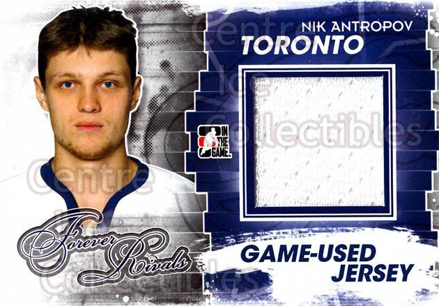 2012-13 ITG Forever Rivals Jersey Blue Red #25 Nik Antropov<br/>1 In Stock - $10.00 each - <a href=https://centericecollectibles.foxycart.com/cart?name=2012-13%20ITG%20Forever%20Rivals%20Jersey%20Blue%20Red%20%2325%20Nik%20Antropov...&quantity_max=1&price=$10.00&code=574816 class=foxycart> Buy it now! </a>