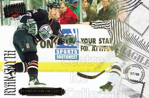 1997-98 Donruss Priority Postcards #19 Ryan Smyth<br/>5 In Stock - $3.00 each - <a href=https://centericecollectibles.foxycart.com/cart?name=1997-98%20Donruss%20Priority%20Postcards%20%2319%20Ryan%20Smyth...&quantity_max=5&price=$3.00&code=57489 class=foxycart> Buy it now! </a>