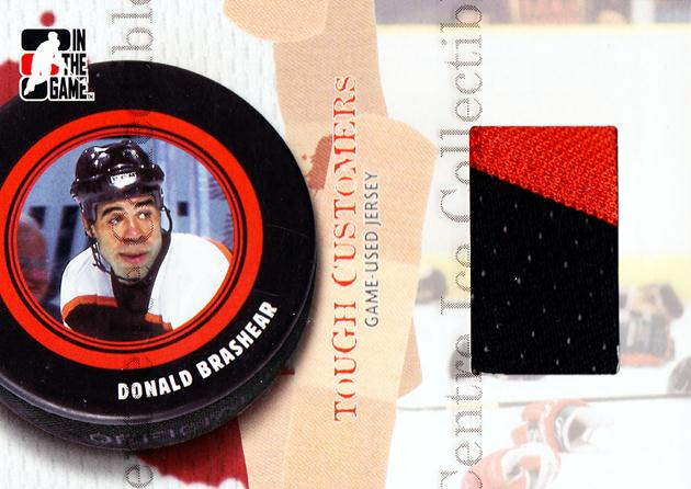 2005-06 ITG Tough Customers Jersey #DB Donald Brashear<br/>1 In Stock - $10.00 each - <a href=https://centericecollectibles.foxycart.com/cart?name=2005-06%20ITG%20Tough%20Customers%20Jersey%20%23DB%20Donald%20Brashear...&quantity_max=1&price=$10.00&code=574974 class=foxycart> Buy it now! </a>