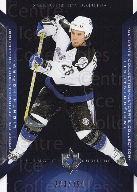 2004-05 UD Ultimate Collection #38 Martin St. Louis<br/>1 In Stock - $5.00 each - <a href=https://centericecollectibles.foxycart.com/cart?name=2004-05%20UD%20Ultimate%20Collection%20%2338%20Martin%20St.%20Loui...&quantity_max=1&price=$5.00&code=575276 class=foxycart> Buy it now! </a>