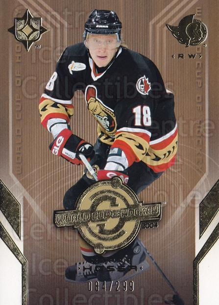 2004-05 UD Ultimate Collection #75 Marian Hossa<br/>1 In Stock - $5.00 each - <a href=https://centericecollectibles.foxycart.com/cart?name=2004-05%20UD%20Ultimate%20Collection%20%2375%20Marian%20Hossa...&quantity_max=1&price=$5.00&code=575313 class=foxycart> Buy it now! </a>