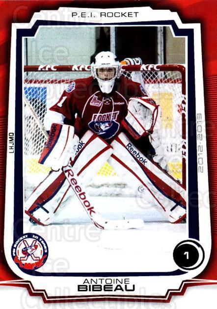2012-13 Prince Edward Island Rocket #23 Antoine Bibeau<br/>2 In Stock - $3.00 each - <a href=https://centericecollectibles.foxycart.com/cart?name=2012-13%20Prince%20Edward%20Island%20Rocket%20%2323%20Antoine%20Bibeau...&quantity_max=2&price=$3.00&code=575414 class=foxycart> Buy it now! </a>