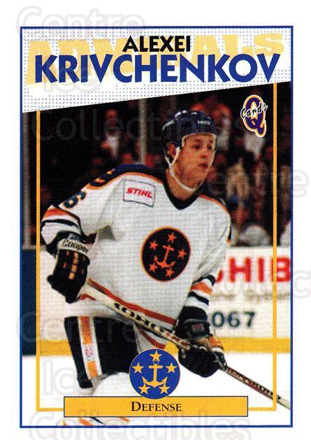 1996-97 Hampton Roads Admirals #15 Alexei Krivchenkov<br/>1 In Stock - $3.00 each - <a href=https://centericecollectibles.foxycart.com/cart?name=1996-97%20Hampton%20Roads%20Admirals%20%2315%20Alexei%20Krivchen...&quantity_max=1&price=$3.00&code=575446 class=foxycart> Buy it now! </a>