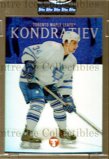 2003-04 Topps Pristine Refractors #161 Maxim Kondratiev<br/>1 In Stock - $5.00 each - <a href=https://centericecollectibles.foxycart.com/cart?name=2003-04%20Topps%20Pristine%20Refractors%20%23161%20Maxim%20Kondratie...&quantity_max=1&price=$5.00&code=576281 class=foxycart> Buy it now! </a>