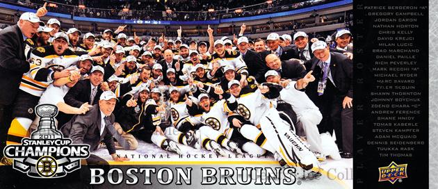 2010-11 Boston Bruins UD Stanley Cup Champions #NNO Boston Bruins, Team Photo<br/>2 In Stock - $3.00 each - <a href=https://centericecollectibles.foxycart.com/cart?name=2010-11%20Boston%20Bruins%20UD%20Stanley%20Cup%20Champions%20%23NNO%20Boston%20Bruins,%20...&price=$3.00&code=576362 class=foxycart> Buy it now! </a>