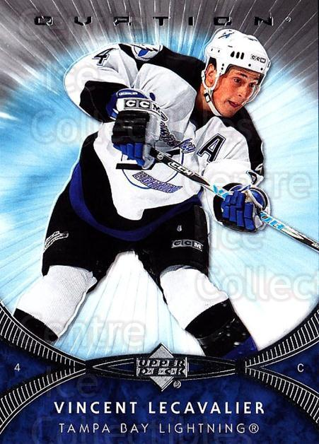 2007-08 UD Ovation #57 Vincent Lecavalier<br/>1 In Stock - $1.00 each - <a href=https://centericecollectibles.foxycart.com/cart?name=2007-08%20UD%20Ovation%20%2357%20Vincent%20Lecaval...&quantity_max=1&price=$1.00&code=576421 class=foxycart> Buy it now! </a>