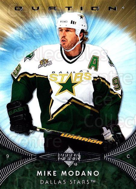 2007-08 UD Ovation #87 Mike Modano<br/>1 In Stock - $1.00 each - <a href=https://centericecollectibles.foxycart.com/cart?name=2007-08%20UD%20Ovation%20%2387%20Mike%20Modano...&quantity_max=1&price=$1.00&code=576451 class=foxycart> Buy it now! </a>