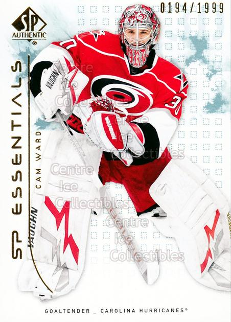 2009-10 SP Authentic #107 Cam Ward<br/>1 In Stock - $2.00 each - <a href=https://centericecollectibles.foxycart.com/cart?name=2009-10%20SP%20Authentic%20%23107%20Cam%20Ward...&price=$2.00&code=576571 class=foxycart> Buy it now! </a>