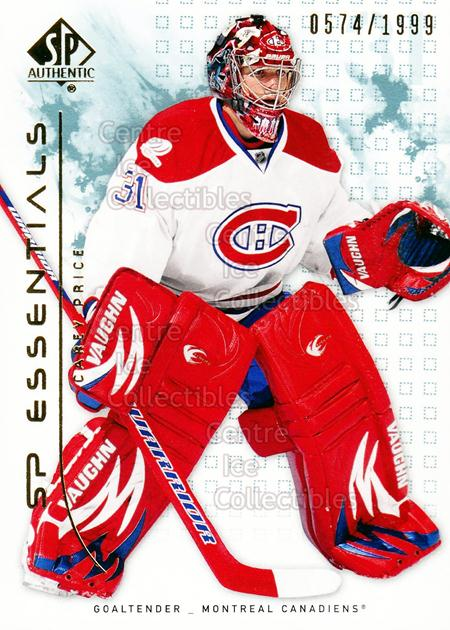2009-10 SP Authentic #108 Carey Price<br/>1 In Stock - $5.00 each - <a href=https://centericecollectibles.foxycart.com/cart?name=2009-10%20SP%20Authentic%20%23108%20Carey%20Price...&price=$5.00&code=576572 class=foxycart> Buy it now! </a>