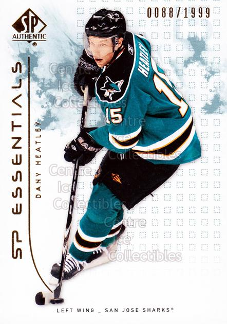 2009-10 SP Authentic #109 Dany Heatley<br/>3 In Stock - $2.00 each - <a href=https://centericecollectibles.foxycart.com/cart?name=2009-10%20SP%20Authentic%20%23109%20Dany%20Heatley...&quantity_max=3&price=$2.00&code=576573 class=foxycart> Buy it now! </a>