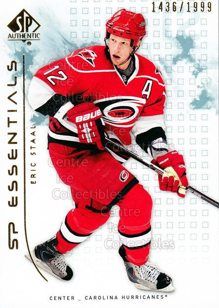 2009-10 SP Authentic #111 Eric Staal<br/>3 In Stock - $2.00 each - <a href=https://centericecollectibles.foxycart.com/cart?name=2009-10%20SP%20Authentic%20%23111%20Eric%20Staal...&quantity_max=3&price=$2.00&code=576575 class=foxycart> Buy it now! </a>