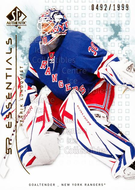 2009-10 SP Authentic #114 Henrik Lundqvist<br/>2 In Stock - $2.00 each - <a href=https://centericecollectibles.foxycart.com/cart?name=2009-10%20SP%20Authentic%20%23114%20Henrik%20Lundqvis...&quantity_max=2&price=$2.00&code=576578 class=foxycart> Buy it now! </a>