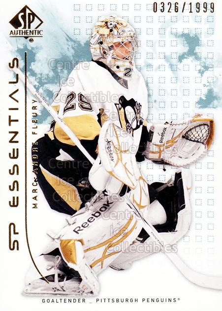 2009-10 SP Authentic #125 Marc-Andre Fleury<br/>1 In Stock - $2.00 each - <a href=https://centericecollectibles.foxycart.com/cart?name=2009-10%20SP%20Authentic%20%23125%20Marc-Andre%20Fleu...&quantity_max=1&price=$2.00&code=576589 class=foxycart> Buy it now! </a>