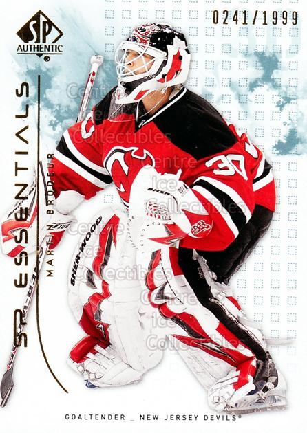 2009-10 SP Authentic #130 Martin Brodeur<br/>2 In Stock - $3.00 each - <a href=https://centericecollectibles.foxycart.com/cart?name=2009-10%20SP%20Authentic%20%23130%20Martin%20Brodeur...&quantity_max=2&price=$3.00&code=576594 class=foxycart> Buy it now! </a>