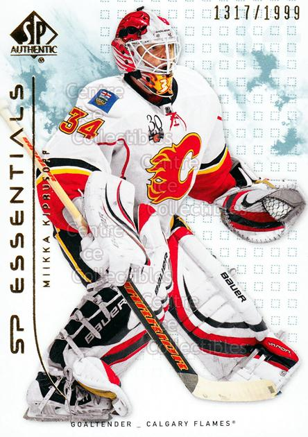 2009-10 SP Authentic #133 Miikka Kiprusoff<br/>3 In Stock - $2.00 each - <a href=https://centericecollectibles.foxycart.com/cart?name=2009-10%20SP%20Authentic%20%23133%20Miikka%20Kiprusof...&quantity_max=3&price=$2.00&code=576597 class=foxycart> Buy it now! </a>